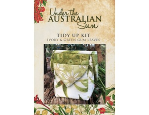 Tidy Up Kit - Ivory Green Gum Leaves