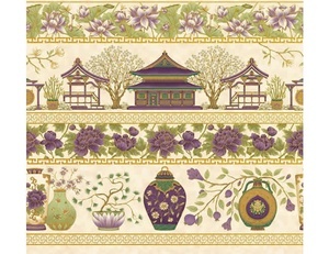 Cream Plum - Border