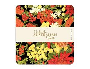 Under the Australian Sun Trivet - Black / Red