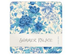 Summer Palace Trivet - Blue/Ivory