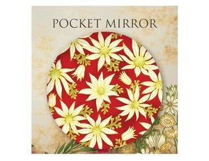 Under the Australian Sun Cosmetic Mirror Flannel Flower