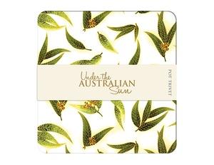 Under the Australian Sun Trivet - Gum Leaves