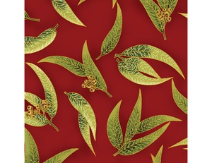 Gum Leaves - Red Green