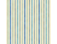 Hampton Stripe - Blue Light Blue Ivory