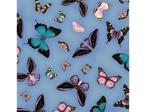 Butterflies - Blue Purple
