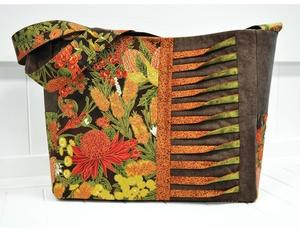 Pintuck Patchwork Bag