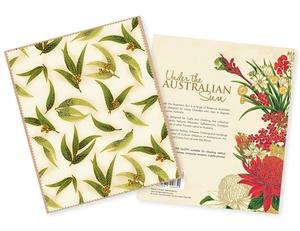 Under the Australian Sun Lens Cloth - Gum Leaves
