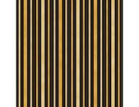 Hampton Stripe - Black Gold Cream