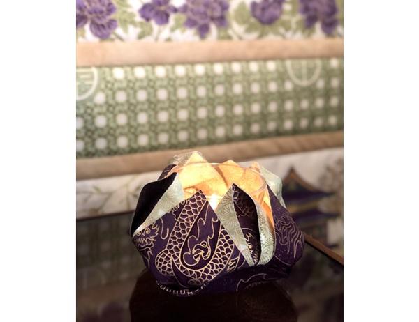 Lotus Fabric Flower