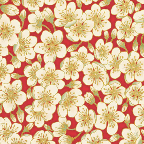 Red Ivory Blossom