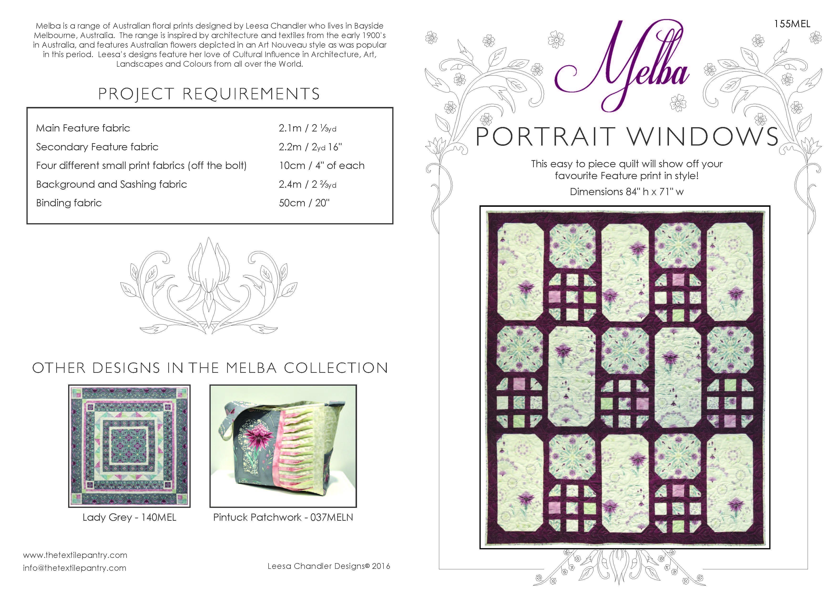Portrait Windows - 155MEL